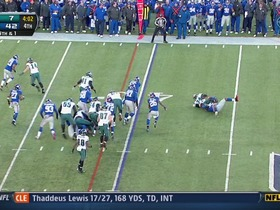 Giants defense, 4th down failed