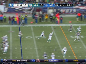 QB Brady to TE Gronkowski, 23-yd, pass, TD
