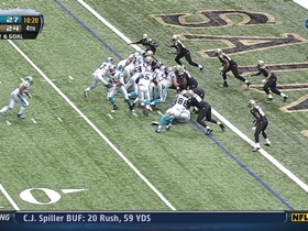 Watch: RB Tolbert, 1-yd, run, TD