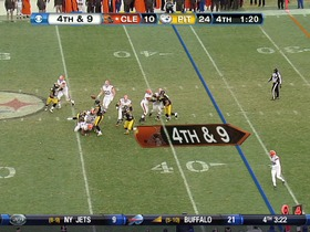 Watch: Steelers defense, sack, 8-yd loss