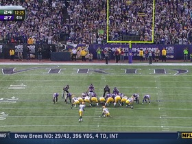 Crosby, 40-yd FG