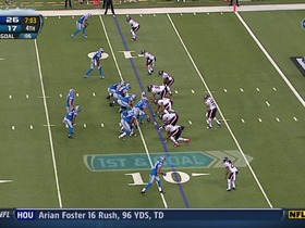 Watch: QB Stafford to WR Robiskie, 9-yd, pass, TD