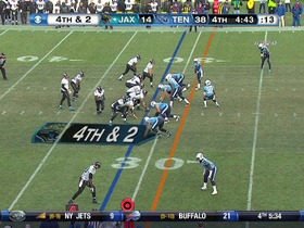 Watch: Titans defense, sack, 4-yd loss