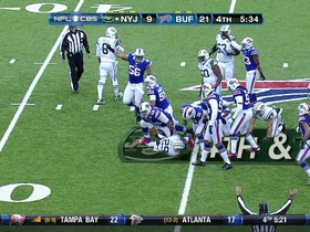Watch: Bills defense, 4th down failed