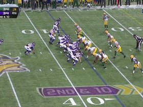 Watch: RB Peterson, 26-yd, run