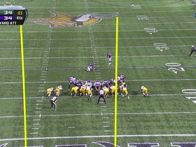 Watch: Walsh, 29-yd FG
