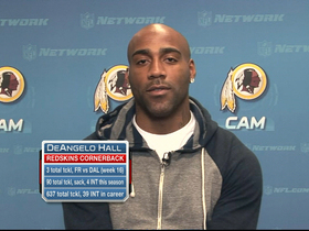 Video - Hall on winning NFC East: 'We responded to the challenge'