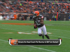 Video - Browns fire head coach Shurmur, GM Heckert
