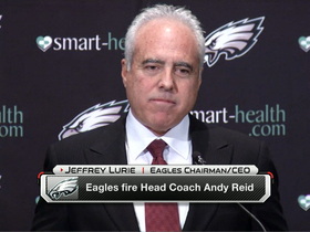 Video - Philadelphia Eagles CEO Jeffrey Lurie: 'Someone is going to get one heck of a football coach'