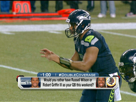 Video - Double Coverage: Washington Redskins QB Robert Griffin III vs. Seattle Seahawks QB Russell Wilson