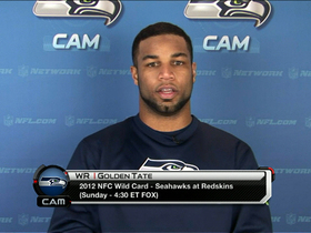 Golden Tate on his rookie QB
