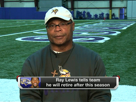 Video - Mike Singletary on Baltimore Ravens linebacker Ray Lewis: 'He's focused on being the best'