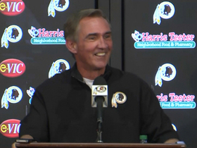 Video - RG3 crashes Mike Shanhan's news conference