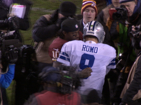Video - RG3 consoles Romo after loss