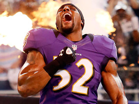 Video - Baltimore Ravens linebacker Ray Lewis' impact defined by passion for game