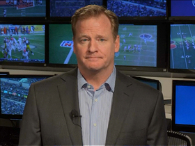 Video - Goodell shows appreciation for Lewis