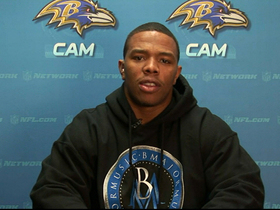 Video - Baltimore Ravens RB Ray Rice: 'We're right where we need to be'