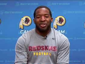 Video - Washington Redskins Alfred Morris: 'I never met the rookie wall'