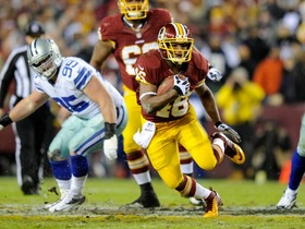 Video - Wild Card Weekend: Washington Redskins RB Alfred Morris vs. Seattle Seahawks RB Marshawn Lynch