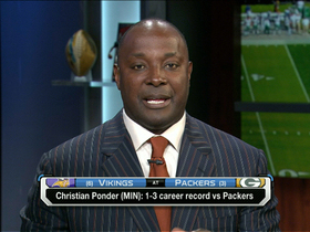 Video - Sterling Sharpe: Minnesota Vikings quarterback Christian Ponder is a 'coin-flip'