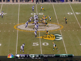 Video - Minnesota Vikings DE Jared Allen sacks Aaron Rodgers