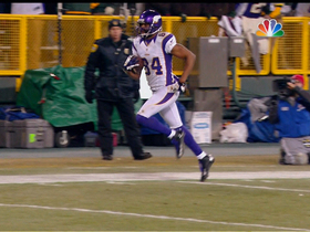 Video - Minnesota Vikings WR Michael Jenkins 50-yard TD catch