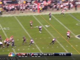 Watch: QB Dalton to WR Green, 45-yd, pass