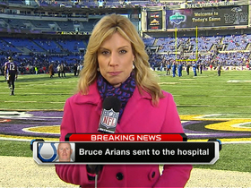 Video - Bruce Arians taken to the hospital