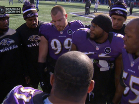 Video - Ray Lewis gets team fired up