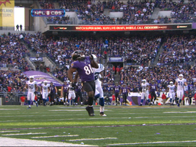 Video - Baltimore Ravens wide receiver Anquan Boldin 46-yard catch