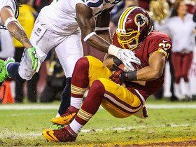 Video - Washington Redskins running back Evan Royster 4-yard TD catch