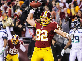 Video - Washington Redskins tight end Logan Paulsen 4-yard TD catch