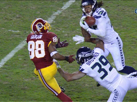 Video - Seattle Seahawks safety Earl Thomas picks off Robert Griffin III
