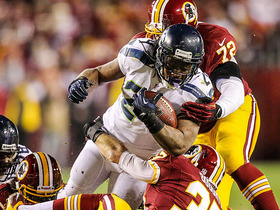 Video - Washington Redskins recover Marshawn Lynch fumble