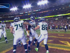 Video - Seattle Seahawks tight end Zach Miller 2-point conversion
