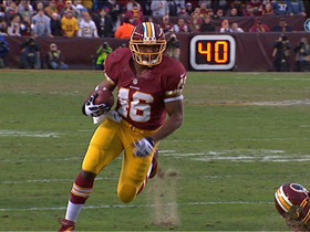 Video - Washington Redskins running back Alfred Morris 18-yard run