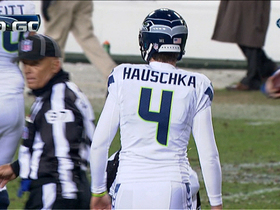 Video - Seattle Seahawks kicker Steven Hauschka limps off field after FG