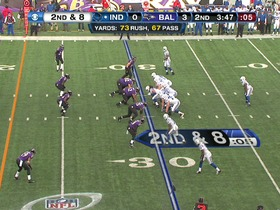 Watch: Ravens defense, sack, 6-yd loss