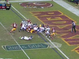 Watch: Redskins defense, fumble recovery