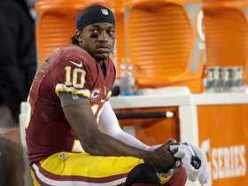 Video - Report: MRI suggests partial knee tears for Washington Redskins quarterback Robert Griffin III