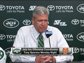 Video - New York Jets head coach Rex Ryan on Tony Sparano firing: ' I wanted to move this team in a different direction'