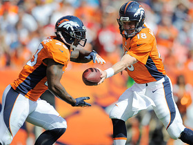 Video - Denver Broncos QB Peyton Manning excited for running back Willis McGahee's return