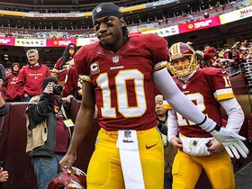 Video - Timetable for Washington Redskins quarterback Robert Griffin III?