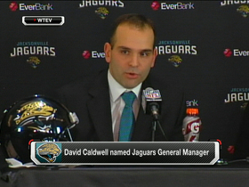 Video - Jaguars' new GM Caldwell nixes Tebow rumor