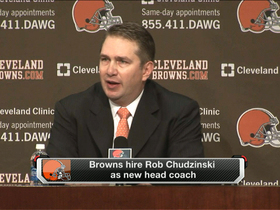 Video - Cleveland Browns owner Jimmy Haslam introduces Rob Chudzinski as new HC