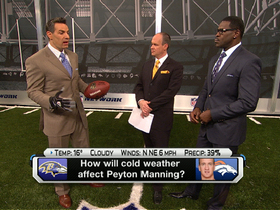 Video - How will cold weather affect Denver Broncos quarterback Peyton Manning?