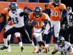 Video - Divisional Can't-Miss Play: Trindon Holliday 89-yard punt return TD