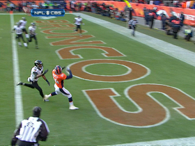 Video - Denver Broncos quarterback Peyton Manning finds wide receiver Brandon Stokley 15-yard TD catch