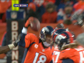 Video - Denver Broncos quarterback Peyton Manning fumble
