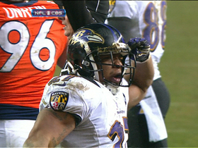 Video - Baltimore Ravens running back Ray Rice 1-yard TD run